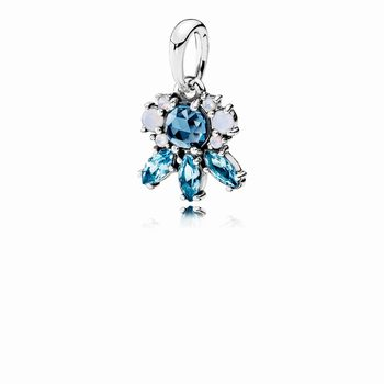 Pandora Patterns of Frost Pendant, Multi-Colored Crystal 390391N